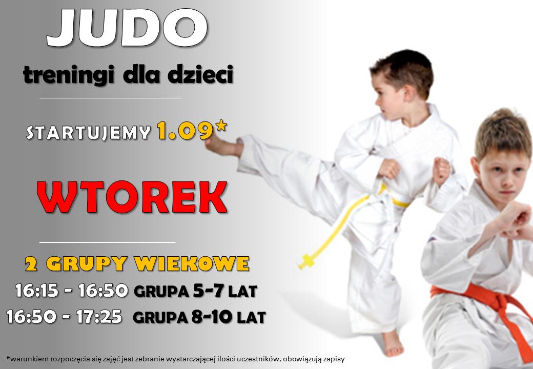 NOWOŚĆ! Treningi Judo dla dzieci
