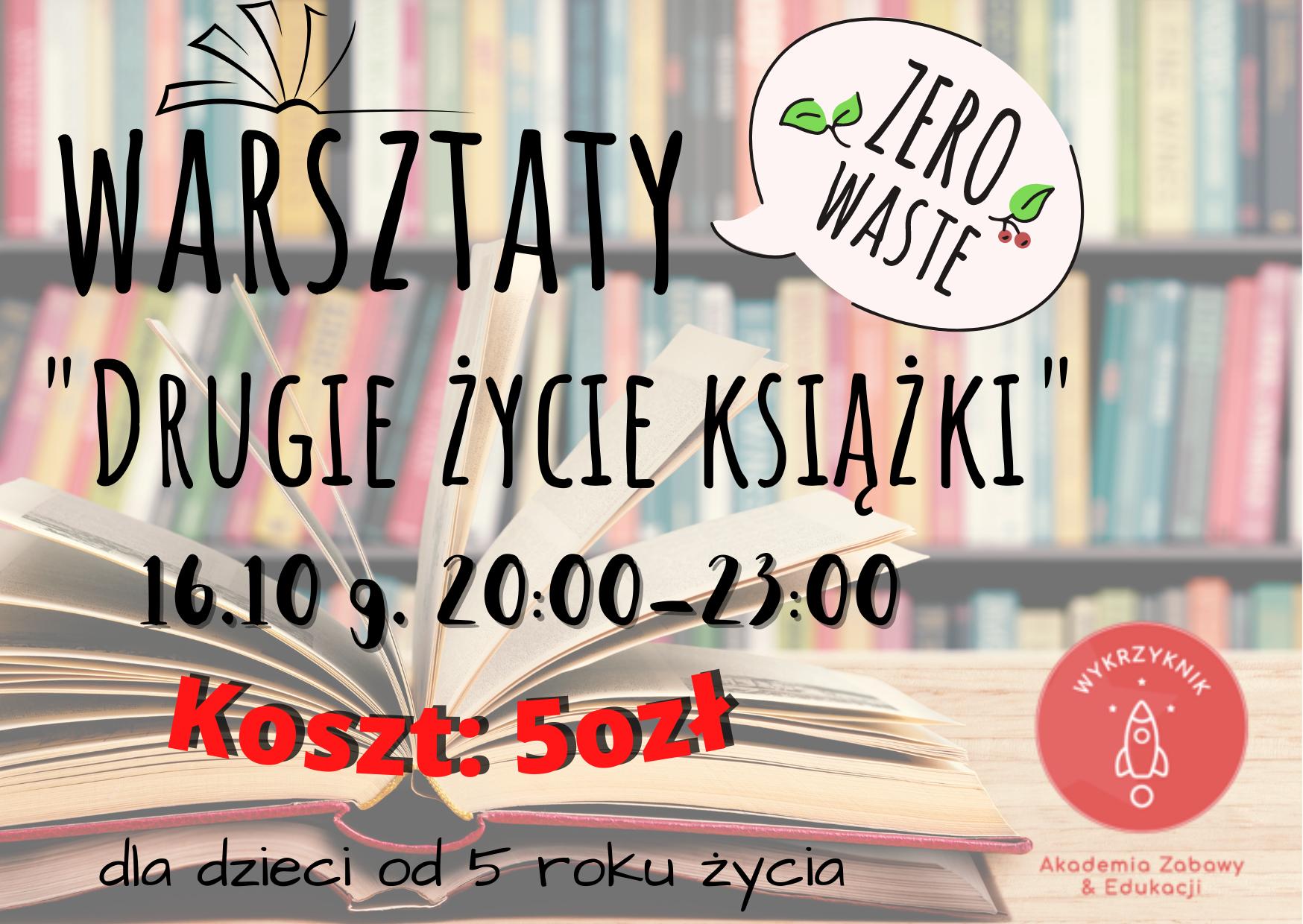 Warsztaty zero-waste dla dzieci 16.10 g. 20:00